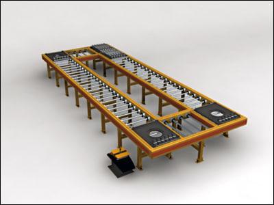 industrial machine manufacturing 3d model