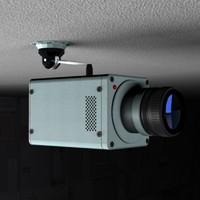 Animated Security Camera