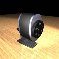 3d model pencil sharpener
