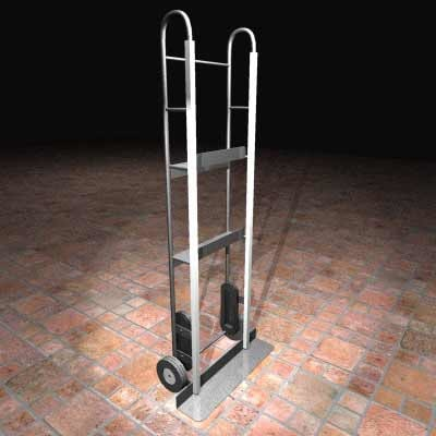 refrigerator dolly 3d model