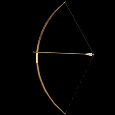 longbow arrows 3d model