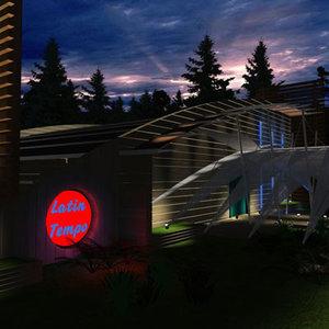 3d model night club