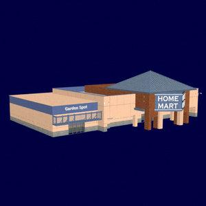 3d model warehouse store