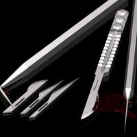 scalpel blade probe 3d model