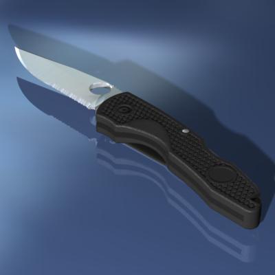 maya pocket knife