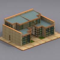 multi purpose building 02 model