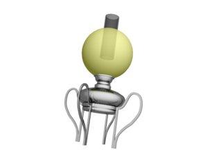 3ds max oil lamp