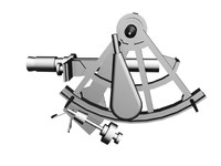 3d model of sextant