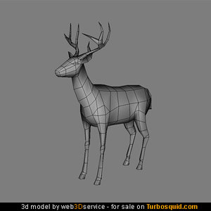 3d deer real time