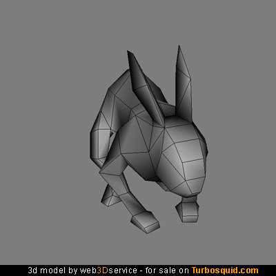 maya real time rabbit