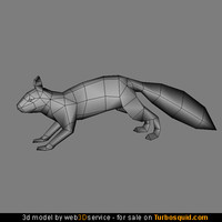 3d real time squirrel