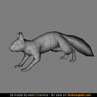 Squirrel 3d model 762 triangles