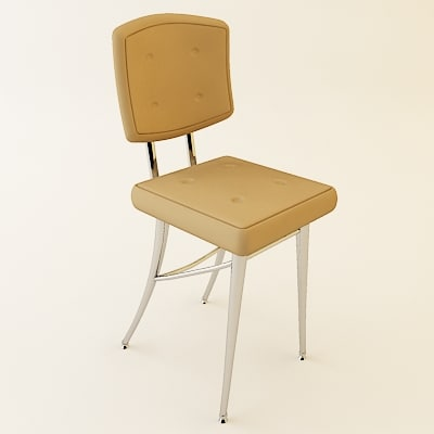 3ds contemporary stool