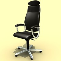 girsberger chair 3d 3ds