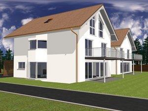 home building 3d model