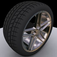maya tire tread wheel car