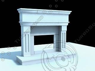 limestone fireplace max