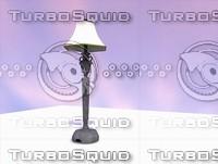 3d possini floor lamp model