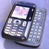 lg f9100 cell phone 3d model
