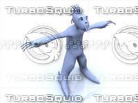 free alien 3d model