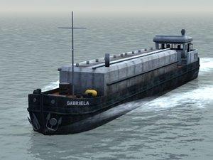 max sea river barge