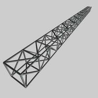 steel truss c4d