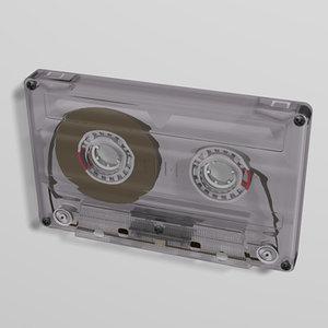 cinema4d cassette tape