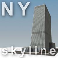 NY skyline - Celanese Building.zip