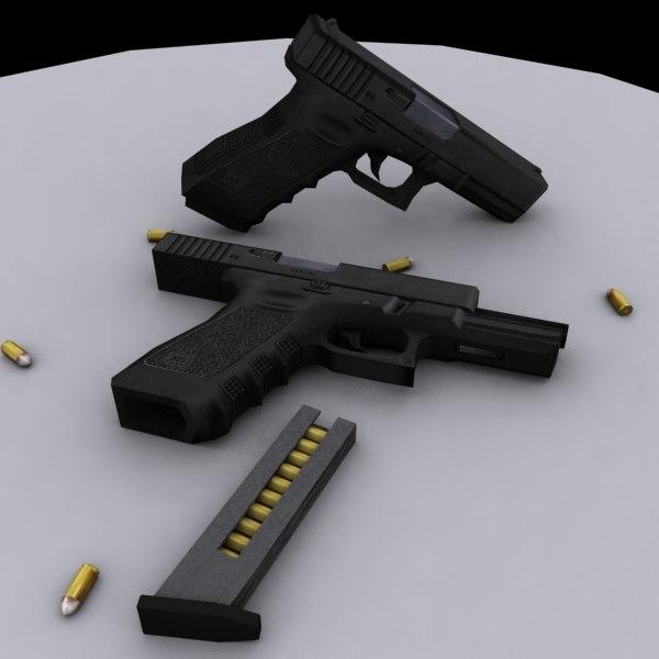maya pistol bullets ammo