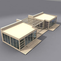 3d model multi purpose building