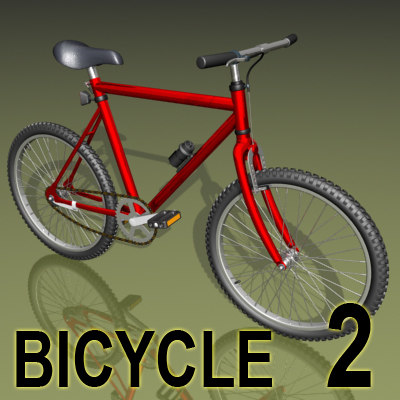 bicycle mountain 3d max