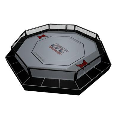 ufc octagon 3d model