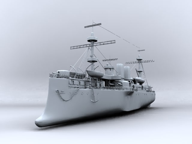 zhenyuan cruiser 3d model