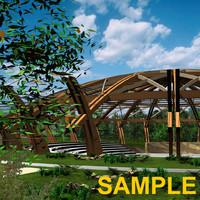 amphitheatre model