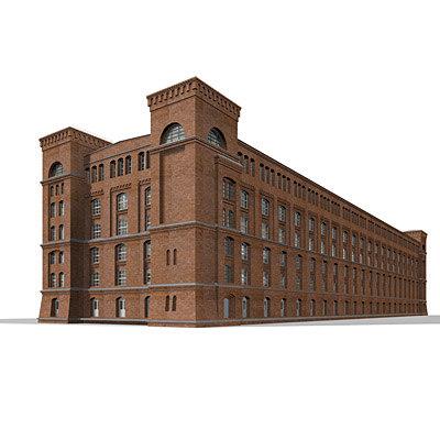 century warehouse 3d model