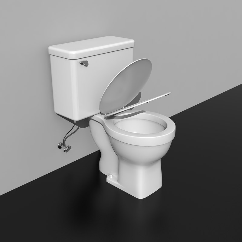 bathroom commode 3ds