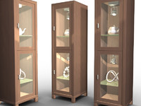 Display Cabinet with Lights