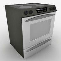 3ds max kitchen range