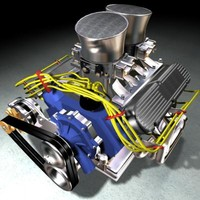 maya american motor v8 engine