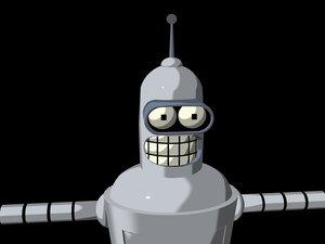 coolest robot bender futurama lwo