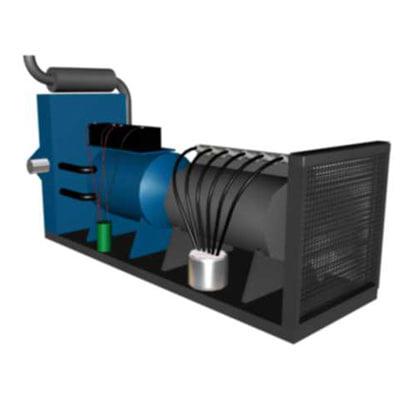 3d model emergency power