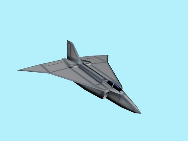 free bomber 3d model