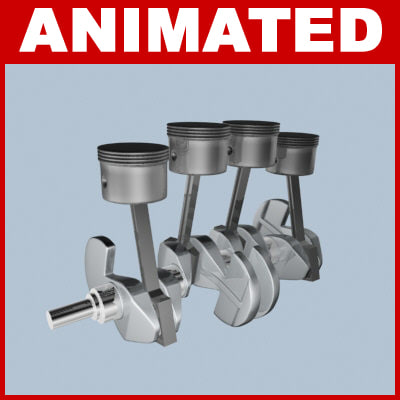 animation engine 3d model