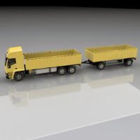 iveco trailer dump 3d model