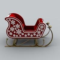 Santa sled 2