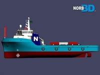 supply ship 3d 3ds