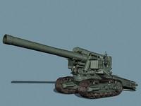 soviet b-4 3d model