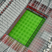 old trafford stadium 3d model