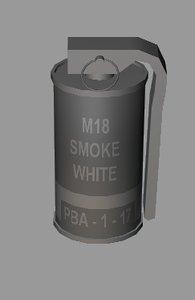 smoke grenade m18 cob cob