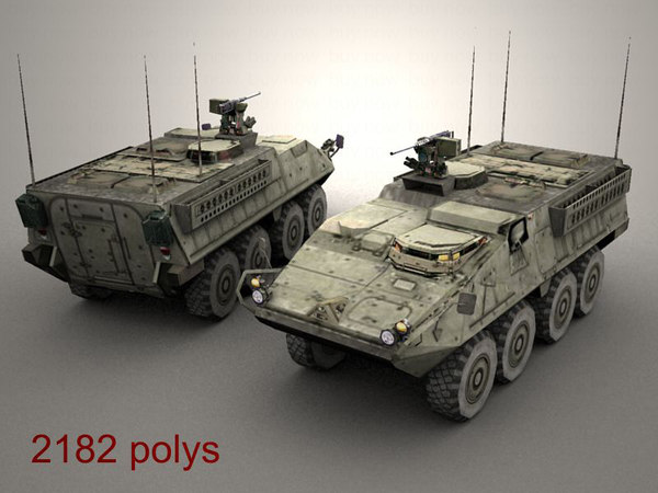 3ds max openflight army stryker icv